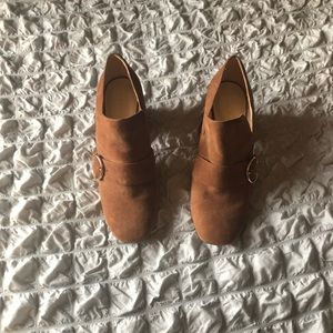 Nine West heeled loafer